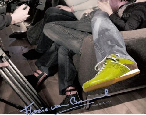 Floris van Bommel_Groene sneaker_advertentie ELSEV