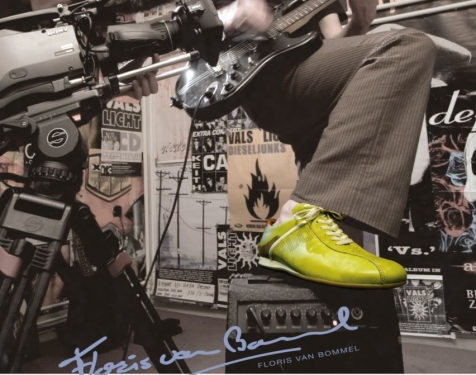 Floris van Bommel_Groene sneaker_advertentie OOR
