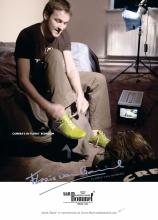 Floris van Bommel_Groene sneaker_advertentie SHOES