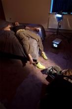 FlorisVanBommel_groene sneaker_behind the scenes22
