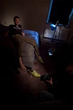 FlorisVanBommel_groene sneaker_behind the scenes28