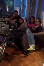 FlorisVanBommel_groene sneaker_behind the scenes33