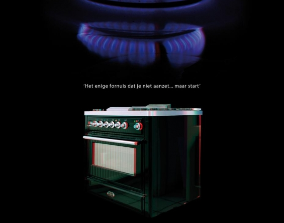 Boretti 3D advertentie keuken