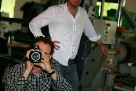 FlorisVanBommel Gele tong behind the scenes1