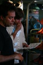 FlorisVanBommel Gele tong behind the scenes19