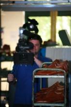 FlorisVanBommel Gele tong behind the scenes3